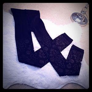NWOT. Sexy pattern fleece leggings
